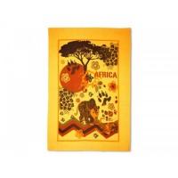 Полотенце вафельное - коллекция Путешествие (Африка)