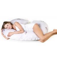Подушка для беременных С-форма (искусственный лебяжий пух)