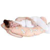 Подушка для беременных Г-форма (искусственный лебяжий пух)