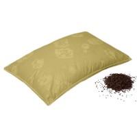 Гречишная подушка Премиум-класс (бязевый чехол)